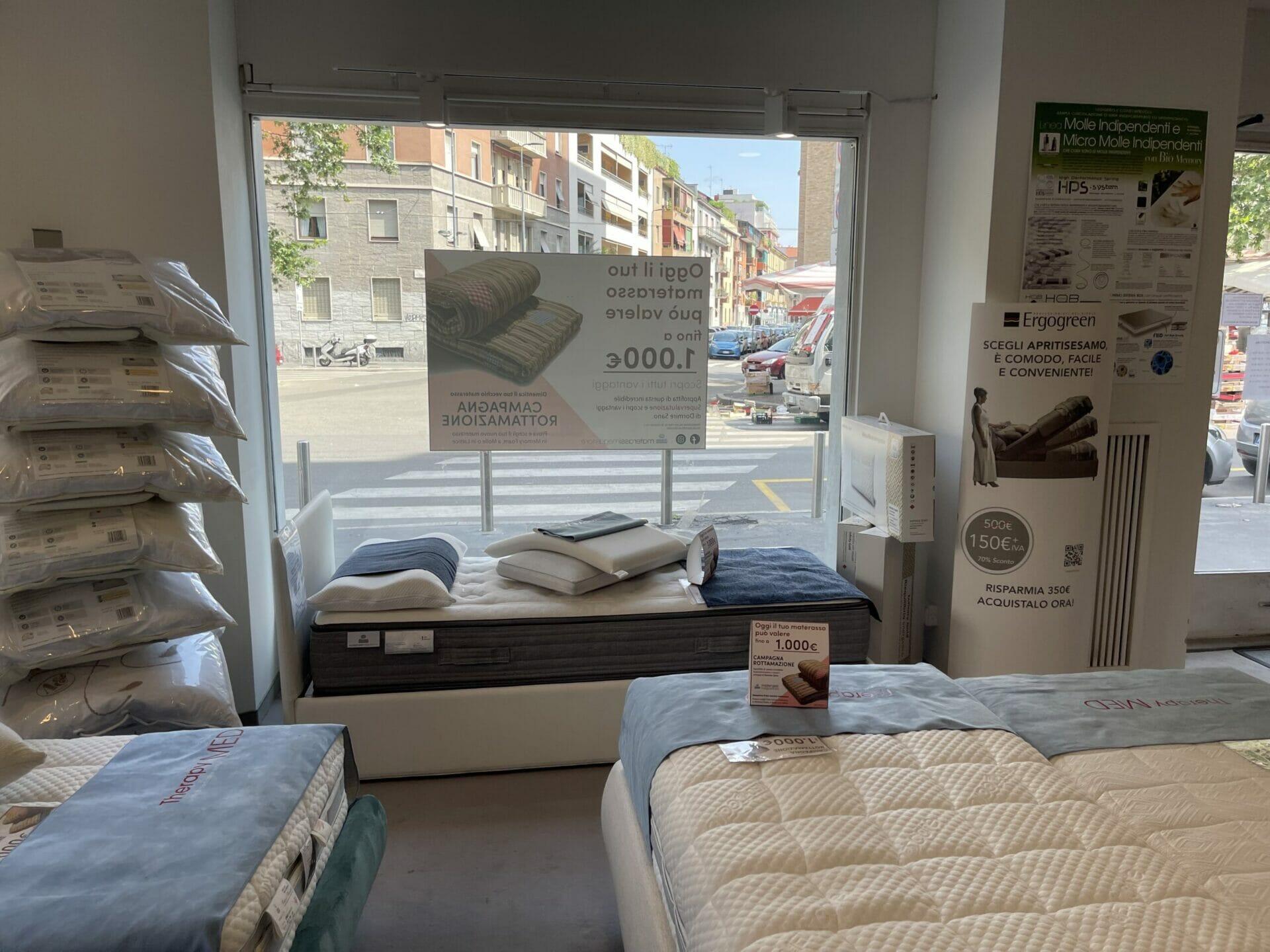 Materassimegastore Punto vendita Milano Via Osoppo 10